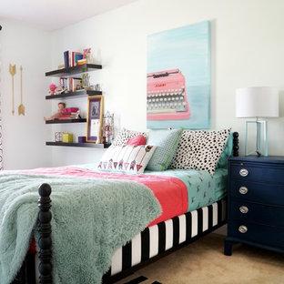 Foto de dormitorio infantil ecléctico de tamaño medio