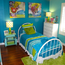Eclectic Kids Teen Room
