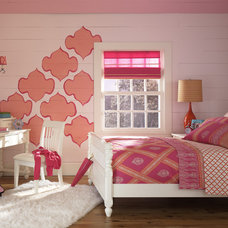 Traditional Kids Teen Room with Bold Colors