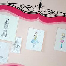 Eclectic Kids Teen's Bedroom/ Art Display