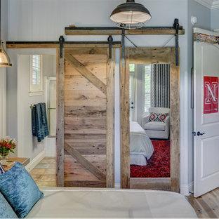 Teenage Bedroom with barnwood details, by Aubrey Pate, ASID, Julie Wait Designs