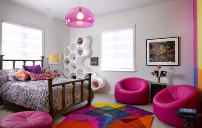 Colorful Area Rugs That Pair With White Walls