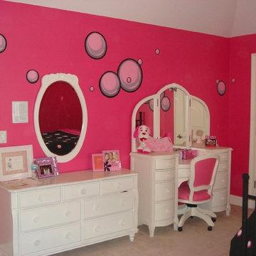 Teenage Girls Room Bubbles!!