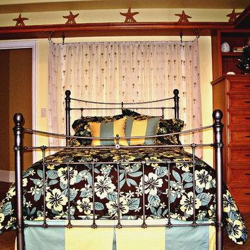 Teenager girl bedroom