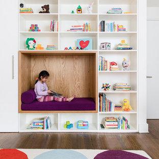 Idée de décoration pour une chambre d'enfant minimaliste.