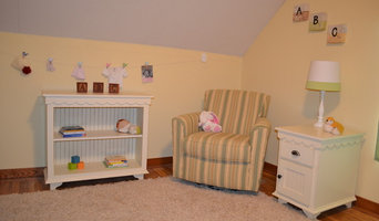 The Fiona Nursery Collection Book Shelf and Side Table