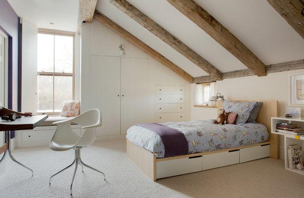 Casa de campo Dormitorio infantil by Holmes Hole Builders LLC