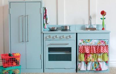 DIY: How to Make an Enchanting Kids' Play Kitchen
