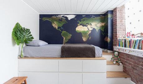 8 hem där sängen förvandlats till en riktigt smart förvaringsmöbel