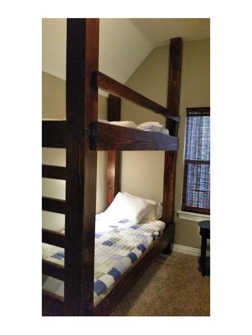 rustikale kinderzimmer in dallas design ideen bilder. Black Bedroom Furniture Sets. Home Design Ideas