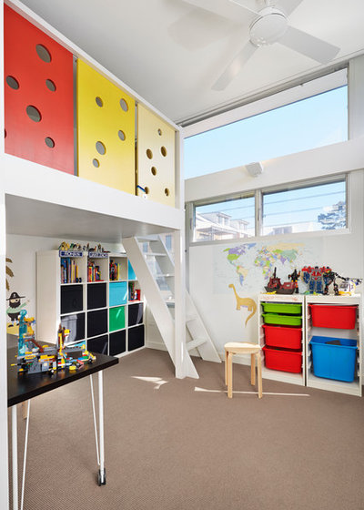 Contemporary Kids by elaine richardson architect