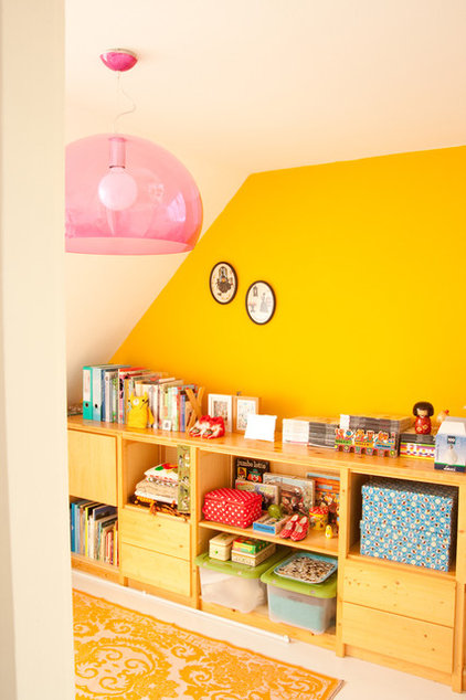 eclectic home office by Planet Fur