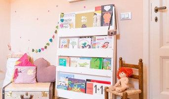 Tidy Books Kids Bookcase White