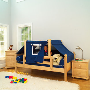 Photo of a contemporary toddler's room for boys in New York.