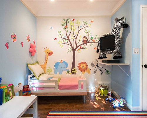 Kids bedroom home design ideas pictures remodel and decor for Childrens bedroom wall designs