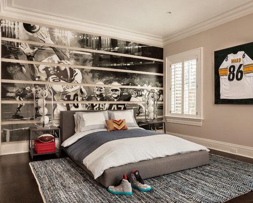 Sport-themed Bedroom | Houzz