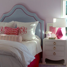 traditional bedroom by Julie Rootes Interiors