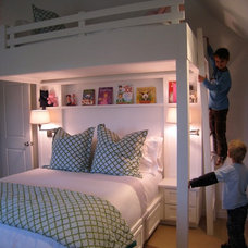 Traditional Kids by Karen White Interior Design