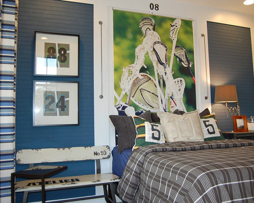 Boys Sports Bedroom sports bedroom | houzz