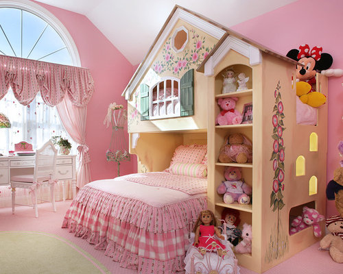 Kidsu0027 Room   Traditional Girl Kidsu0027 Room Idea ...