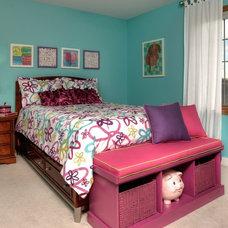 Traditional Kids by Suzan J Designs - Decorating Den Interiors