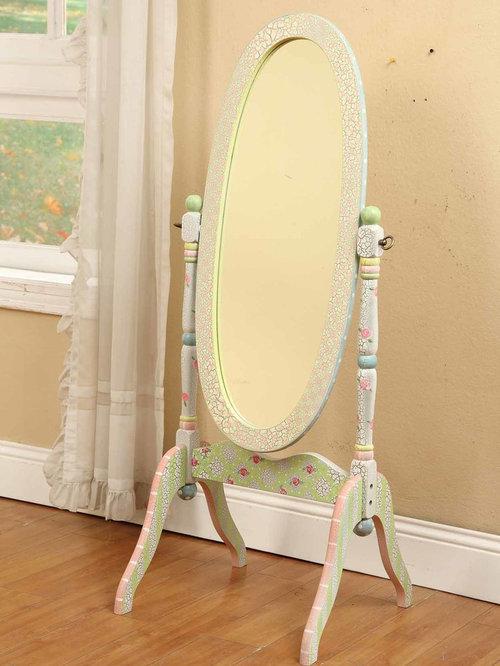 Elegant kids  room photo in New York. Girls Room Mirror   Houzz