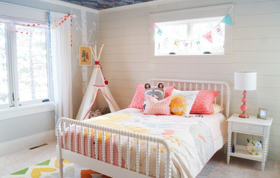 Woodland-Themed Toddler's Room Is Ready to Grow Up With Her