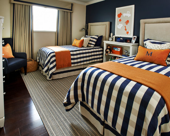 Navy Blue And Orange Houzz