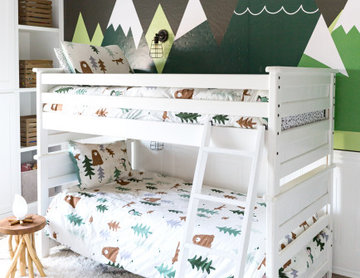 Transitional Office + Kids Camping Room
