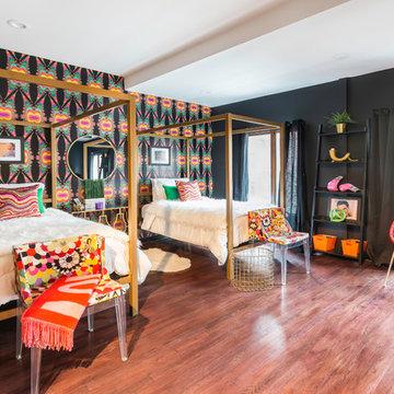 Trendy Townhouse - Eye-Catching Children's Bedroom
