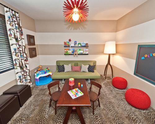 Contemporary Playroom Idea In Phoenix