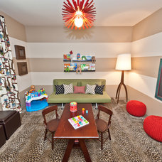 Contemporary Kids by Laura Wiedmann Interior Design, LLC