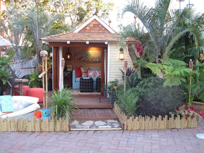 tropical tiki backyard ideas
