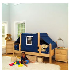 Eclectic Kids Trundle Bed & Cubby
