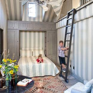 Example of an eclectic kids' bedroom design in Los Angeles
