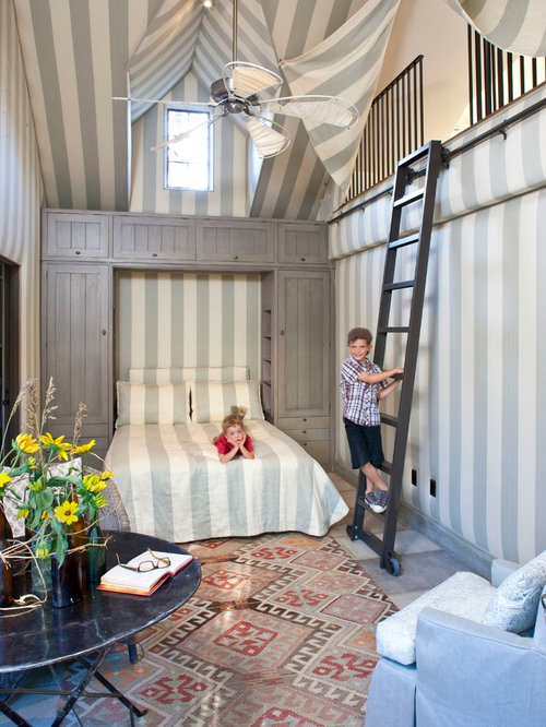 Example Of An Eclectic Kids Room Design In Los Angeles