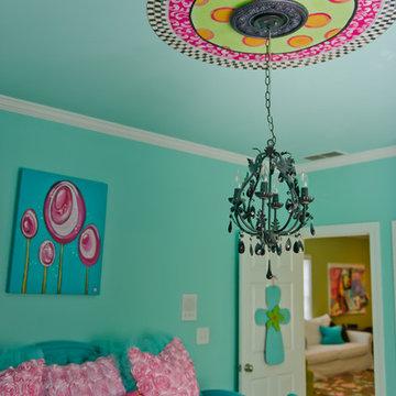 Turquoise Tween Bedroom - Canton, Ga