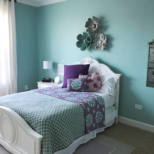 Tween Girl's Aqua Bedroom