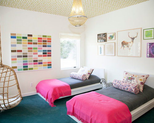 Twin Girl Bedroom Houzz