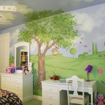 Twins' Bedrooms & Playroom