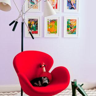 Minimalist kids' room photo in New York