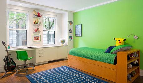 3 tríos de color para decorar el dormitorio de un adolescente