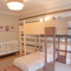 Contemporary Kids Upper West Side Boy's Room