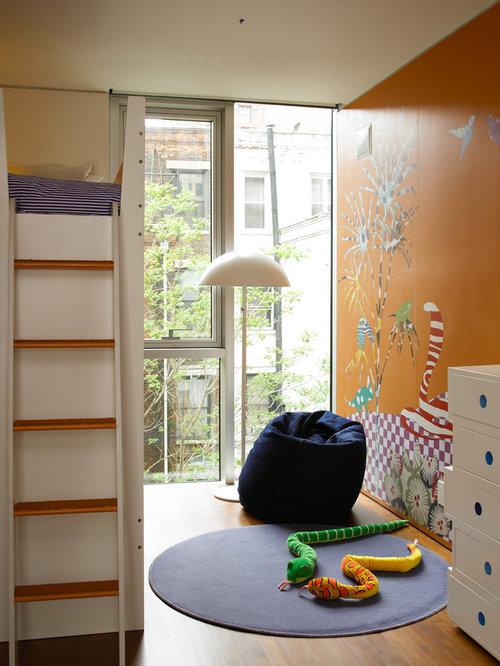 best dr seuss mural playroom home design design ideas remodel pictures houzz. Black Bedroom Furniture Sets. Home Design Ideas