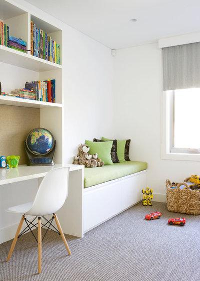 コンテンポラリー 子供部屋 by Denai Kulcsar Interiors
