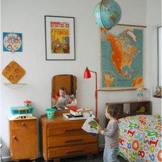 Eclectic Kids vintage room