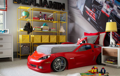 Room of the Day: Revving Up the Fun in a Racing Fan's Room
