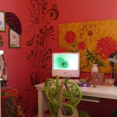 Eclectic Kids Watermelon Room