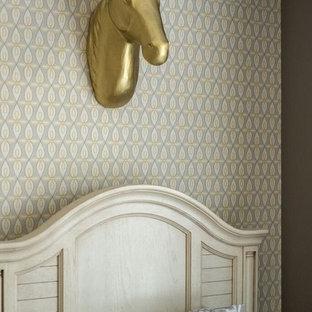 Waxhaw, NC Teen Girl Bedroom Gray/Yellow