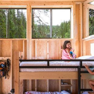 Idéer för att renovera ett rustikt barnrum